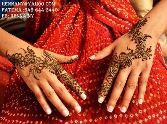 Modern Henna designs