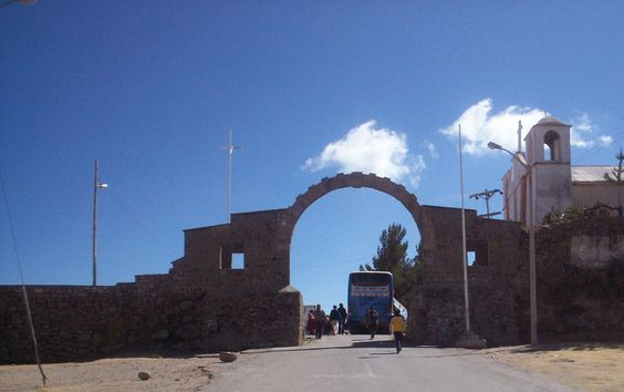 Yunguyo is the alternative crossing that you encounter going around Lake Titicaca