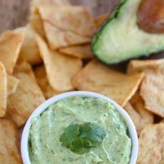 Creamy Avocado Yogurt Dip - Two Peas & Their Pod   All things Edible ...