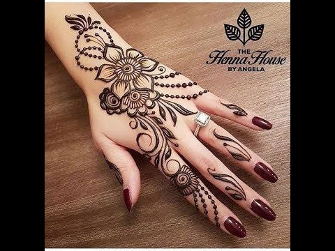 نقوش حناء رائعة على اليدين و القدمين نقوش حناء بسيطة و متوسطة و نقوش ع Engagement Mehndi Designs Henna Designs Easy Henna Tattoo Designs