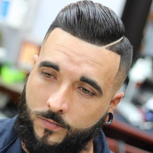 Comb Over Hard Part Line Up Beard Comb Over Fade Comb Over Haircut Comb Over Fade Haircut