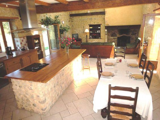 PALOU  G121151    Gîte pour 6 personnes avec 3 chambres à AUBERTIN,  Pau Pays Bearn En Béarn, à 10km de Pau, au coeur des vignobles du Jurançon Un ECO GITE au milieu des vignes