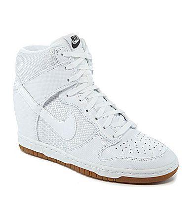 62e434d59a40 ... uk nike womens dunk sky hi hidden wedge sneakers dillards a6720 13139