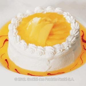 Mango Stuffed Cake Recipe