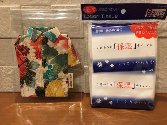 Silk Aloha Shirts pocket tissue holder mini Kyoto not for sale with Tissue sets #Pagon