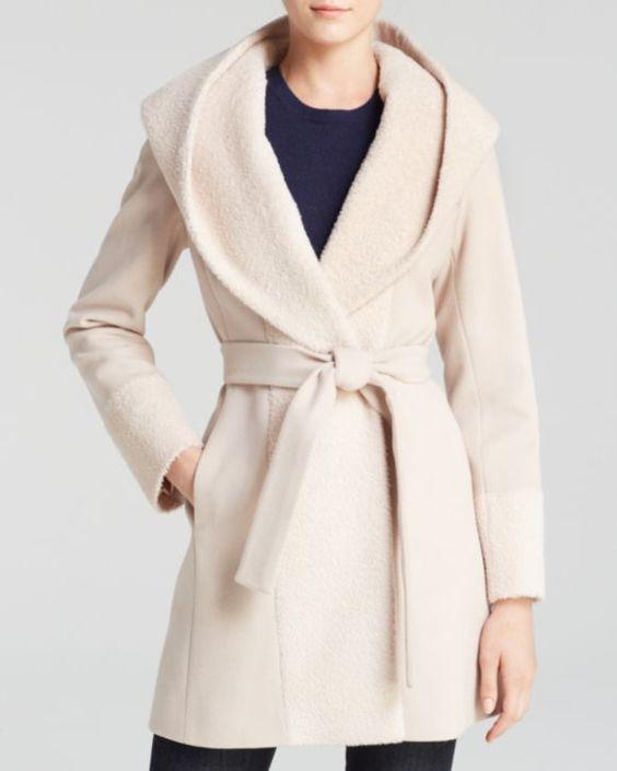 Trina Turk Wrap Coat - Jane Alpaca | Bloomingdales's