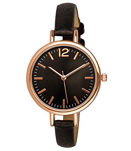 Sale Preis: SIX Uhr mit rosé-goldenem Gehäuse & schmalem schwarzen Armband, in Geschenkbox (274-337). Gutscheine & Coole Geschenke für Frauen, Männer & Freunde. Kaufen auf http://coolegeschenkideen.de/six-uhr-mit-rose-goldenem-gehaeuse-schmalem-schwarzen-armband-in-geschenkbox-274-337  #Geschenke #Weihnachtsgeschenke #Geschenkideen #Geburtstagsgeschenk #Amazon