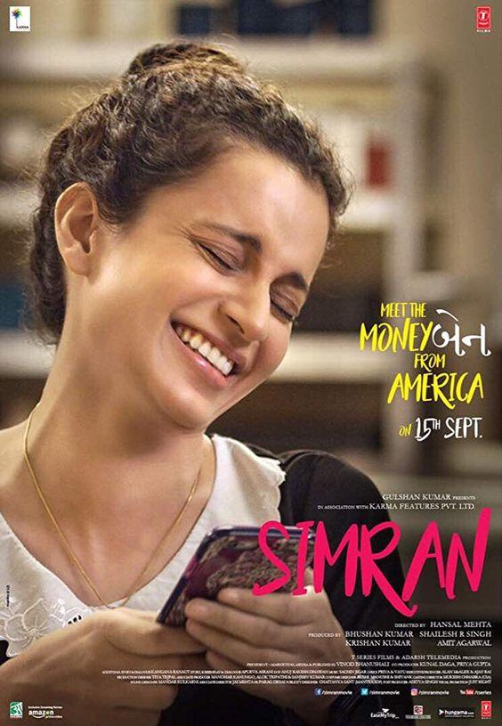 Simran (2017) DVDRip