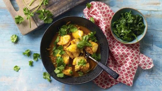 We used to eat this fragrant curry as children – it's one of my earliest memories – and it's on the table in 30 minutes.