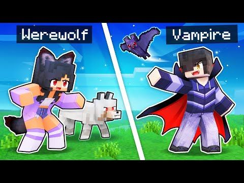 minecraft but we re werewolves and
