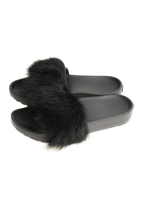 Czarne Klapki Ugg Uggs Celebrities Mule Shoe