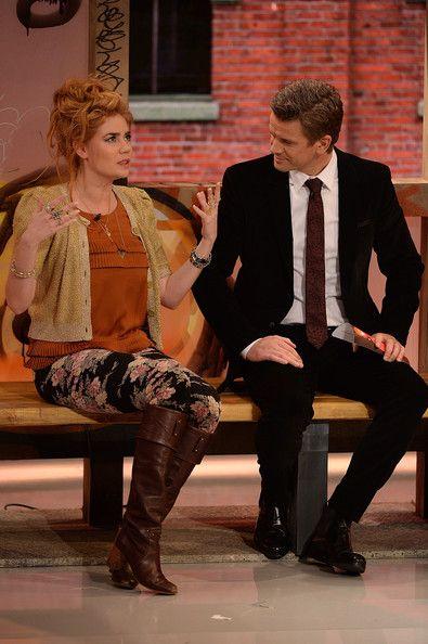 Palina Rojinski Photos: 'Menschen 2013' Show Taping