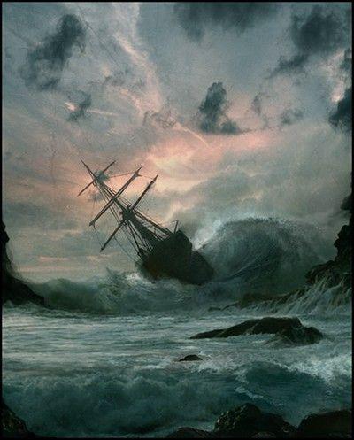 Resultado de imagen para barcos en tormentas