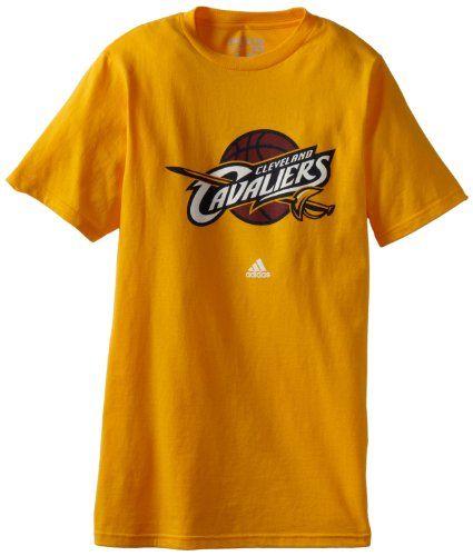NBA Cleveland Cavaliers Primary Logo T-Shirt, Large, Gold - http://bignbastore.com/nba-tshirts/nba-cleveland-cavaliers-primary-logo-t-shirt-large-gold