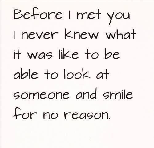 Even thinking of you makes me smile xxxx | the reason is ...