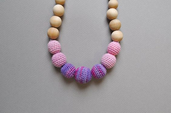 SALE with GIFTNursing Necklace/Teething by Simplyacircle on Etsy