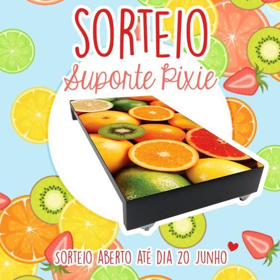 Sorteio Suporte PIXIE - http://gostinhos.com/sorteio-suporte-pixie/