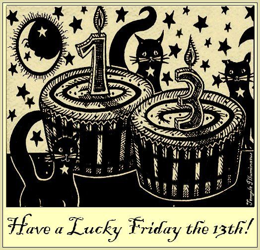 Lucky Friday The 13th Quotes Artsings1946 Lucky Friday