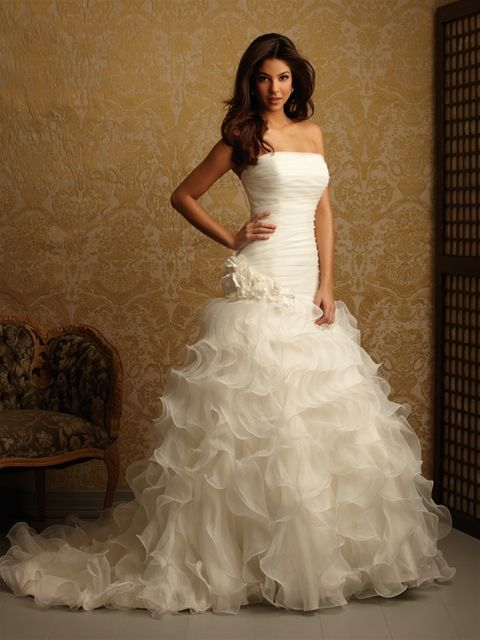 Exclusive By Allure Bridals, Style 2457, Front