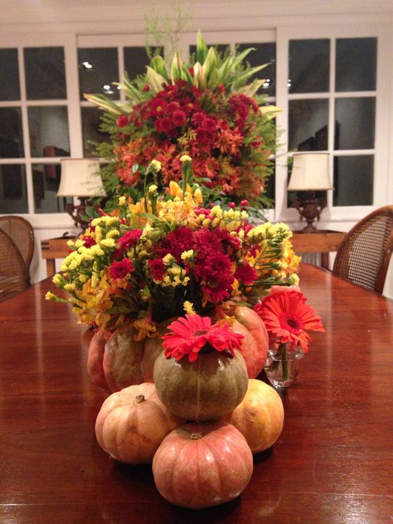 Flores por Valter Lano ❤️ #flowers and  #pumpkins
