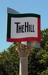 The Hill - famous old neighborhood in St. Louis known for its Italian restaurants