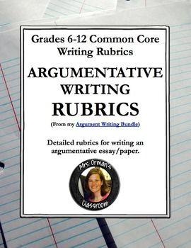 Common core argument essay prompts