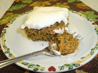 Made-From-Scratch Carrot Cake, shared by Renae of Down on the Farm
