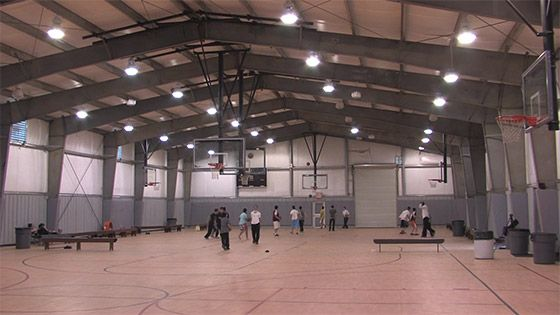 Steel Buildings Metal Building Systems Testimonials Steel Metal Buildings Buildin Indoor Basketball Court Indoor Basketball Metal Building Homes Cost