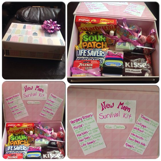 Baby Gift Ideas For Hospital : New mom survival kit great diy baby shower gift for first