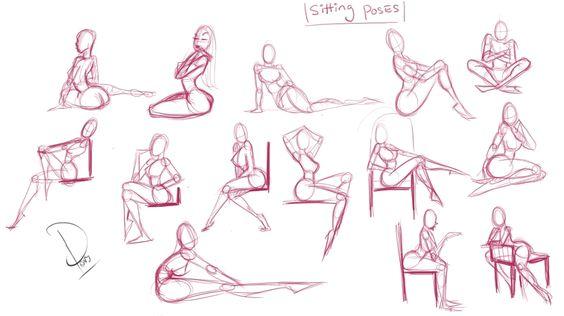 Dibujo e ilustración de chica Cartoon - PinUp Girl - Identi
