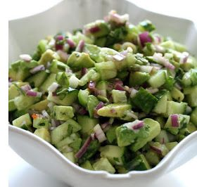 The Paleo Home: Guacamole Salad