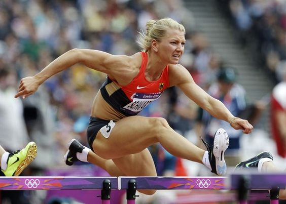 Hurdles, Heptathlon and Track field on Pinterest
