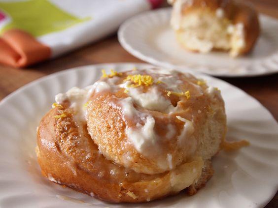 rolls sticky lemon and more glaze cream cream cheeses cream cheese ...