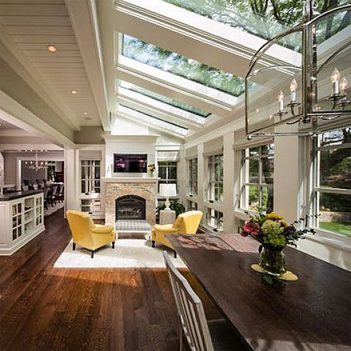10 must-have luxury-home amenities: ceiling windows (© Kyle Hunt & Partners, Incorporated/Houzz )