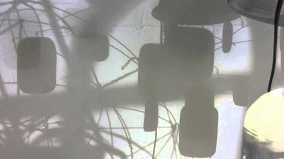 Morning shadows in the studio