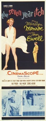 Seven Year Itch- Maybe one of MM's best film roles. Her innocent quality and persona just bowled me over. She certainly was something. Great direction from Billy Wilder and the whole cast is great. MM's star power and heat is something you can feel from a distance. MH