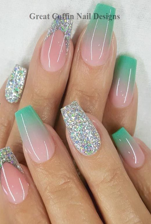 Cute Fashion Ideas To Inspire You 2020 Coffin Nail Art Ideas In 2020 Nail Art Wedding Trendy Nails Nails