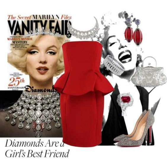 Old Hollywood - color and peplum