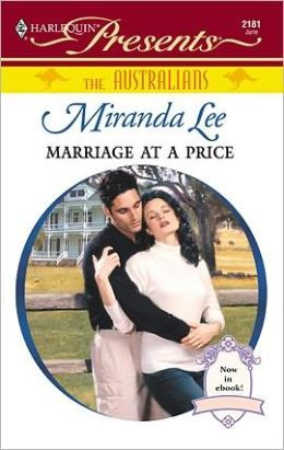 Marriage at a Price  by Miranda Lee