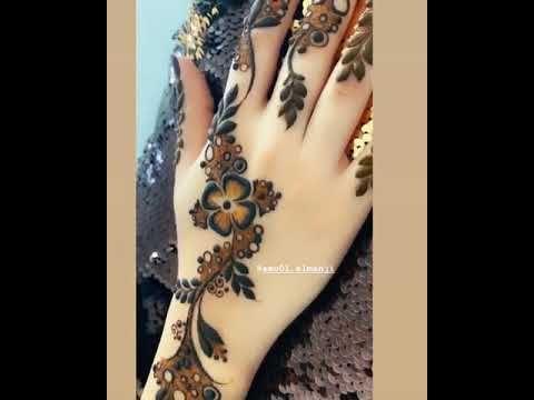 نقش حناء خفيف Youtube Henna Designs Feet Latest Henna Designs Latest Mehndi Designs