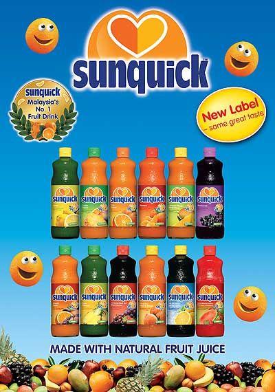 how to make sunquick juice
