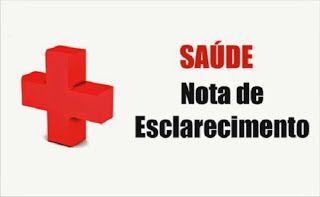 NONATO NOTÍCIAS: SERVIDORES DA SAÚDE DE SENHOR DO BONFIM ENVIA NOTA...