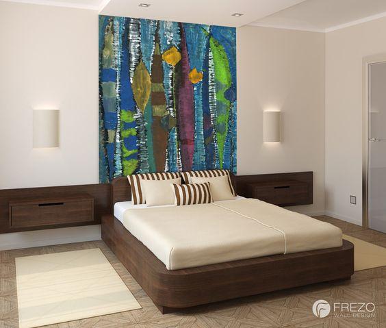 "Wallpaper ""Birches"" • WOO Design"