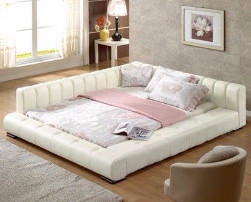 Korean Padded Bed Frame King Size Bedroom Sets French