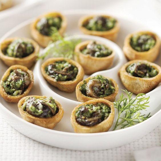 Impromptu Gourmet   Escargot Bites - Appetizers