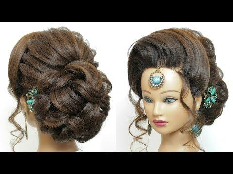 New Latest Bridal Hairstyle For Ladies Wedding Hairdo Hair Tutorial Youtube New Bridal Hairstyle Wedding Hairstyles For Long Hair Long Hair Styles