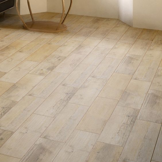Leroy merlin carrelage imitation parquet maison salon for Sol stratifie sur carrelage