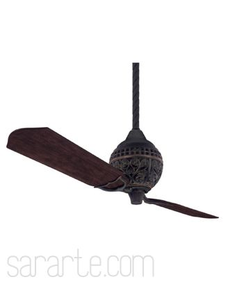 Hunter Fan Company Traditional Ceiling Fans, Finish: Midas Black Two ...
