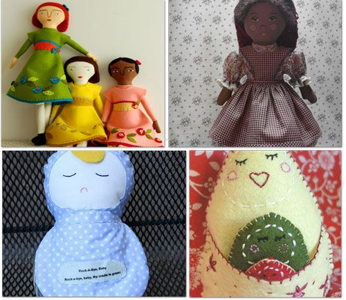 20 Patterns To Make A Doll {sew, paper, crochet,}