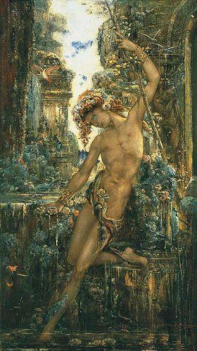 "Gustave Moreau (1826-1898), ""Narcissus"":"